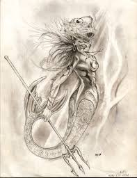 mermaid drawing design holy roller tattoos and