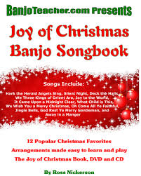 banjo songs with book cd and dvd ross nickerson