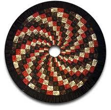 quick spiral quilt christmas tree skirt tree skirts christmas