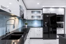 images of white kitchen cabinets with black appliances kitchen appliance finishes easily find the right color