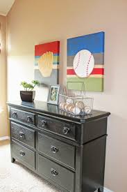 Baseball Decorations For Bedroom by Baseball Door Knob Decorations For Party Field Wall Boys Room