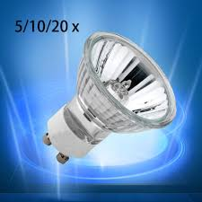 gu10 50w halogen light bulbs 5 10 20 x long life gu10 50w halogen light bulbs delivery 10pcs ebay
