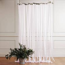 Dress Curtains Pale Pink Wedding Backdrop By Just Add A Dress