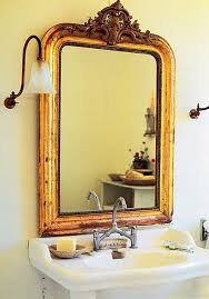 Vintage Bathroom Mirror Vintage Gold Leaf Mirrors Antique Gold Leaf Mirror Flc Collections
