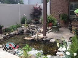 Backyard Fish Pond Ideas Triyae Com U003d Small Backyard Koi Pond Ideas Various Design