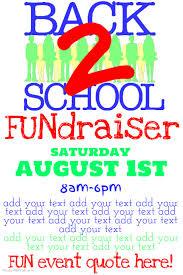fundraising flyer fall fundraiser flyer photo fall bazaar