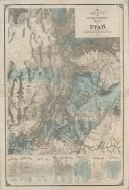 Logan Utah Map by A Utah Territory Rarity Rare U0026 Antique Maps