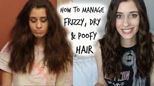 why is my hair curly in front and straight in back how to manage curly frizzy poofy hair my hair care routine
