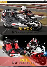 red motorbike boots motorcycle boots pro biker a009 speed moto racing motocross