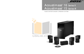 bose cinemate gs series ii digital home theater speaker system download free pdf for bose acoustimass 15 series i speaker system