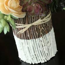 Diy Vase Decor Diy Painted Twig Vase Hometalk