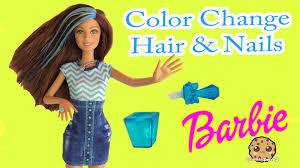 color change hair u0026 nails barbie glitz glam doll cookieswirlc