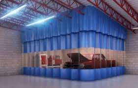 Painting Aluminum Screen Enclosures by Paint And Spray Booth Curtains Akon U2013 Curtain And Dividers