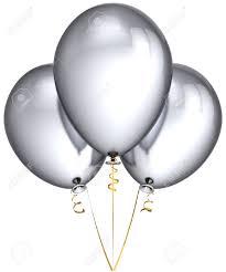 silver balloons gray balloons clipart explore pictures