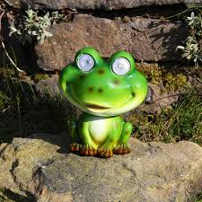 solar frog light nodding frog solar light world of solar novelty solarlights