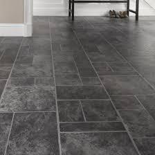 stunning vinyl flooring slate tile effect slate effect cushioned