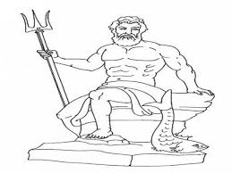 coloringpagebook the great king god zeus holding his lightning