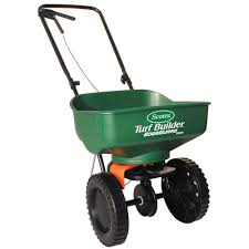 Hand Carts At Home Depot by Scotts Turf Builder Mini Broadcast Spreader 76121 The Home Depot