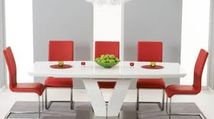 cheap red dining table and chairs modern red dining chairs awesome home writers bloc red modern sled
