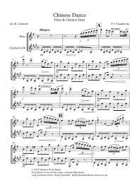 nutcracker suite flute clarinet duet