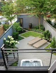 Landscape Design For Small Spaces Low Deck Yards And Decking - Design for small backyard