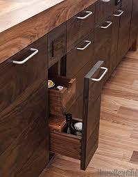 Modern Wood Kitchen Walnut Kitchen Cabinets - Modern wood kitchen cabinets