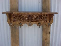 furniture french antique carved wall shelf coat rack hat rack wall