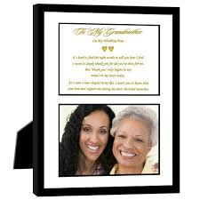 amazon com thank you wedding gift for grandmother from bride