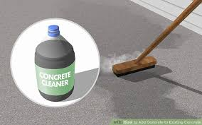 How To Clean A Concrete Patio by The Best Way To Add Concrete To Existing Concrete Wikihow