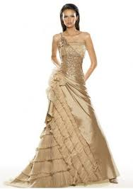selected gorgeous evening dress