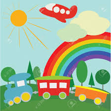 3 298 sun and rainbow wallpaper stock illustrations cliparts and