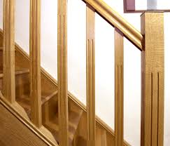 Contemporary Stair Parts by Redwood Stop Chamfered Spindle Spindles Stair Parts Doors