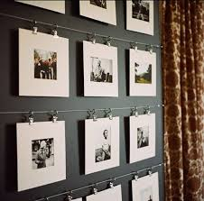 hanging pictures with wire and clips wire clips home pinterest display photography and walls