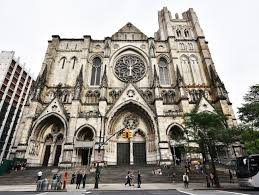 Medieval Cathedral Floor Plan Medieval Architecture In Nyc St Patrick U0027s Cathedral The