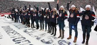 olympic rings women images U s women 39 s ice hockey team rings in new year by naming 39 14 team jpg