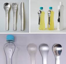 Unique Flatware Sets Why Buy Cutlery Used Plastic Cut Into New Flatware Sets
