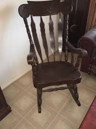 Early American Rocking Chair Antique Rocking Chair