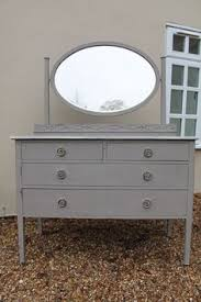 White Shabby Chic Dressing Table by Vintage Shabby Chic Court Cupboard Sideboard Annie Sloan French