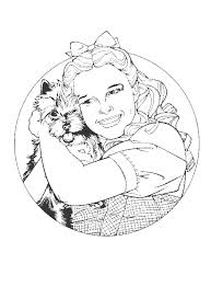 coloring pages wizard of oz corpedo com