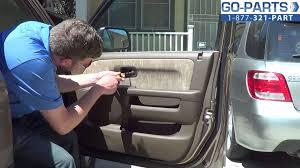 honda crv parts 2004 replace 2002 2006 honda cr v door handle interior how to change