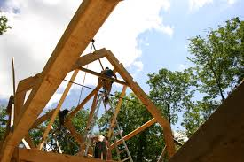 roof framing eagle pond house the