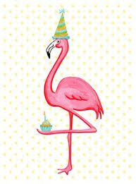 flamingo birthday pattern and design inspiration pinterest