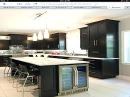 island kitchen photos kitchen island with wine fridge lilyjoaillerie co