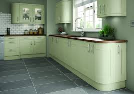 Kitchen Small Kitchen Remodel Light Olive Green Kitchen Green