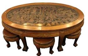 hand carved coffee table fancy carved coffee table somerefo org