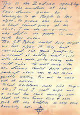 zodiac killer letters wikisource the free online library