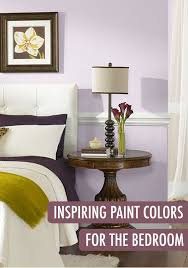 create a calming oasis in your bedroom with a serene light purple