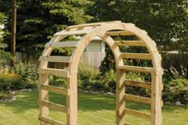 how to build a trellis archway 21 brilliant diy backyard arbor ideas