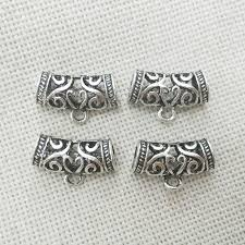 necklace making charms images Necklace pendant charms connectors bail findings tibet silver jpg