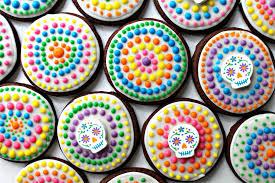 dia de los muertos decorations dia de los muertos sugar cookies for care package 25 the